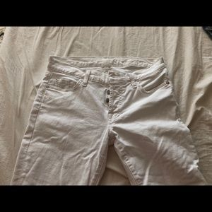 7 for all mankind Josefina jeans in white